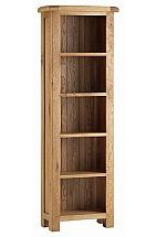 Vale Furnishers - Dorking Narrow Bookcase